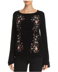 Cupcakes And Cashmere - Ruthie Embroidered Chenille Jumper - Lyst