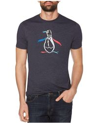 Original Penguin - Fragmented Pete Embroidered Tee - Lyst