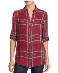 Ralph Lauren | Lauren Plaid Button-down Shirt | Lyst