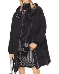 MICHAEL Michael Kors - Oversized Hooded Puffer Down Jacket - Lyst