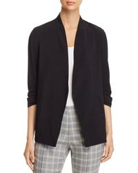 Kenneth Cole - Open Ruched-sleeve Blazer - Lyst