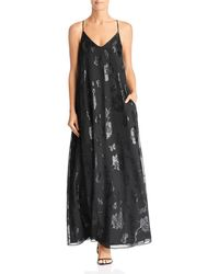 Laundry by Shelli Segal - Floral Trapeze Gown - Lyst