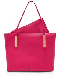 Ted Baker - Paigie Leather Tote - Lyst