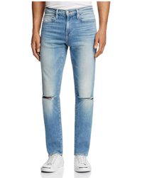 FRAME - L'homme Slim Fit Jeans In Crawford - Lyst