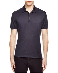John Varvatos - Collection Striped Slim Fit Polo - Lyst