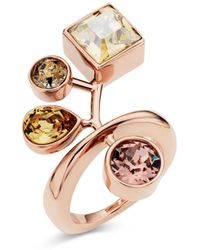 Atelier Swarovski - By Peter Pilotto Arbol Cocktail Ring - Lyst