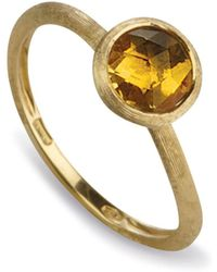 Marco Bicego - Citrine Stackable Jaipur Ring - Lyst