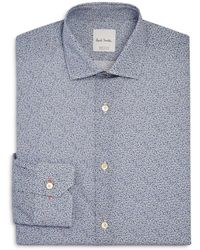 Paul Smith - Micro Floral Slim Fit Dress Shirt - Lyst