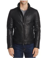 Mackage - Leather Bomber Jacket - Lyst