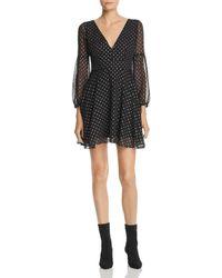 BB Dakota - Star Foil Print Dress - Lyst