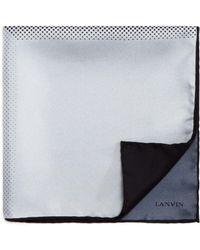 Lanvin - Gradient Dot Pocket Square - Lyst