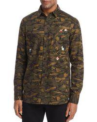 Sovereign Code - Nintendo Camouflage Regular Fit Button-down Shirt - Lyst