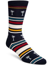 Cole Haan - Palm Tree Crew Socks - Lyst