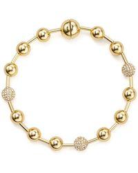 Rebecca Minkoff - Pavé Multi-sphere Bracelet - Lyst