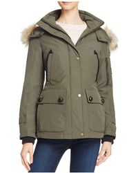 Pendleton - Bachelor Fur Trim Down Coat - Lyst