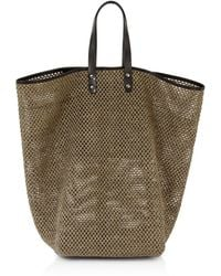 Creatures of Comfort | Tall Raffia Market Bag | Lyst