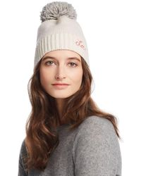 Sundry - Love Embroidered Beanie - Lyst