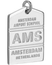 Jet Set Candy - Ams Amsterdam Luggage Tag Charm - Lyst