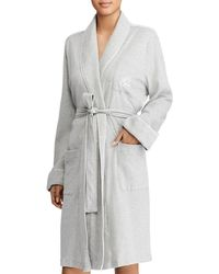 Ralph Lauren - Lauren Quilted Collar & Cuffs Short Robe - Lyst