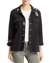 Billy T - Embroidered Jacket - Lyst