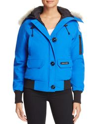 Canada Goose - Chilliwack Down-filled Bomber Jacket - Lyst