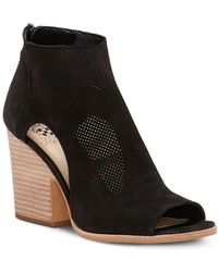 Vince Camuto - Bevina – Perforated Cutout Bootie - Lyst