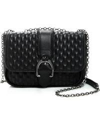 76ff85eff1 Longchamp - Amazone Matelassé Small Leather Shoulder Bag - Lyst