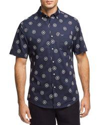 Vilebrequin - Flower Regular Fit Button-down Shirt - Lyst