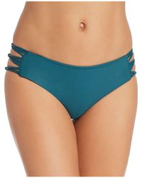 Mikoh Swimwear - Barcelona Full Coverage String Side Bikini Bottom - Lyst