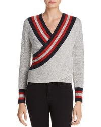 C/meo Collective - Faux-wrap Jumper - Lyst