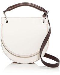 Marni - Small Leather Saddle Bag - Lyst