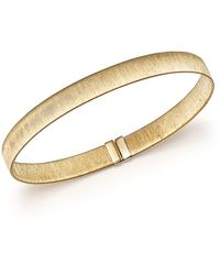 Bloomingdale's - 14k Yellow Gold Polished Cuff - Lyst