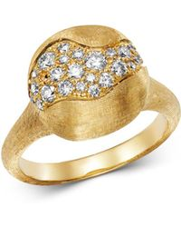Marco Bicego - 18k Yellow Gold Africa Constellation Pavé Diamond Ring - Lyst