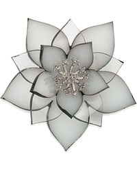 Carolee - Flower Pin - Lyst