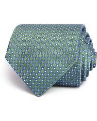 Turnbull & Asser - Diamond Geometric Neat Woven Classic Tie - Lyst
