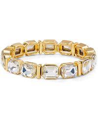 Aqua - Stretch Bracelet - Lyst