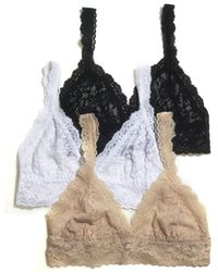 Hanky Panky - Signature Lace Crossover Bralette - Lyst