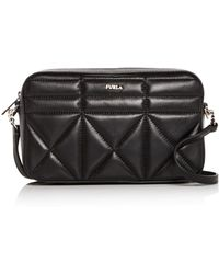 0be02d8b48 Furla - Fortuna Medium Quilted Leather Convertible Crossbody - Lyst
