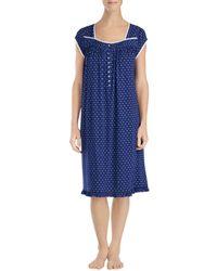 Eileen West - Cap Sleeve Waltz Nightgown - Lyst