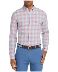 Vineyard Vines - Hullman Point Crosby Plaid Slim Fit Button-down Shirt - Lyst