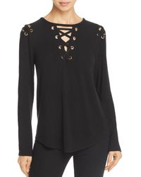 Generation Love - Valentine Lace-up Top - Lyst