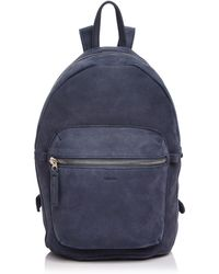 BAGGU - Nubuck Leather Backpack - Lyst