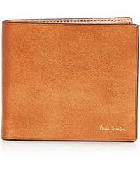Paul Smith - Leather Bi-fold Wallet - Lyst