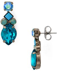 Sorrelli - Precious Petal Drop Earrings - Lyst