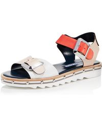 Charles David - Women's Spy Leather Ankle Strap Sandals - Lyst