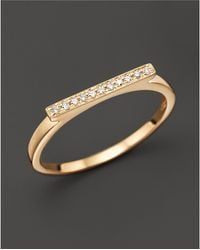 Dana Rebecca - Diamond Sylvie Rose Ring In 14k Yellow Gold - Lyst