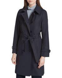 Calvin Klein - Tie-waist Trench Coat - Lyst