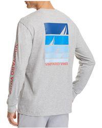 Vineyard Vines - Sailing Blues Pocket Tee - Lyst
