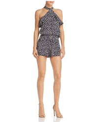 Faithfull The Brand - Gaia Floral Romper - Lyst