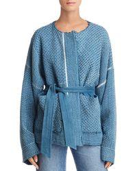 Elizabeth and James - Hayden Textured Kimono Jacket - Lyst